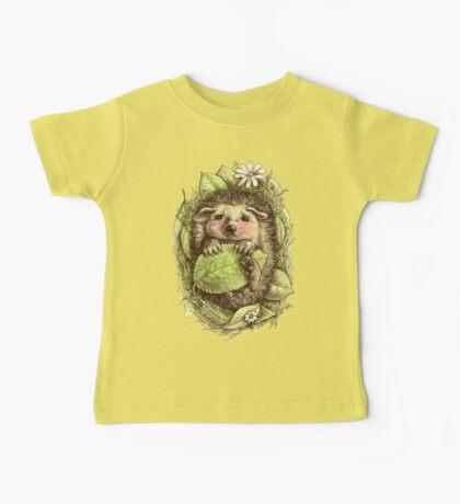 Little hedgehog colored Baby Tee