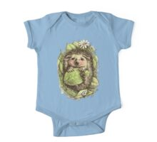 Little hedgehog colored One Piece - Short Sleeve