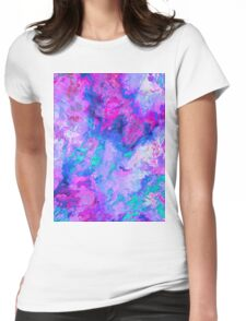 Abstract 56 Womens Fitted T-Shirt
