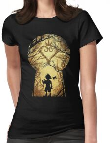 The key Womens Fitted T-Shirt