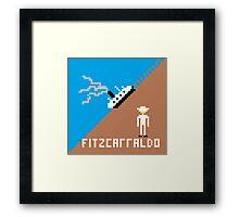 Fitzcarraldo Pixel Framed Print
