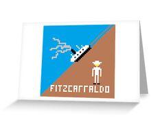 Fitzcarraldo Pixel Greeting Card