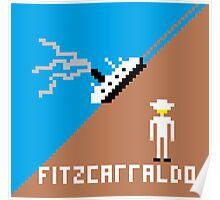 Fitzcarraldo Pixel Poster