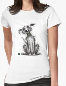 Rex the dog Womens Fitted T-Shirt
