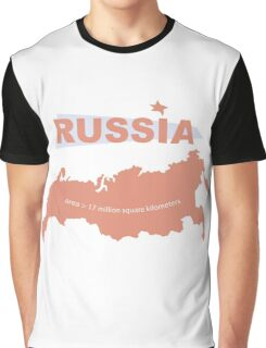 infographics Russia Graphic T-Shirt