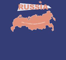 infographics Russia Unisex T-Shirt