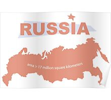 infographics Russia Poster