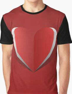 Butterfly Heart Graphic T-Shirt