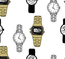 Watches Pattern Design Sticker