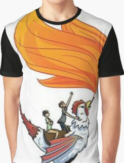 Good Mythical Morning Cockatrice Art by Mr. Ritter Graphic T-Shirt