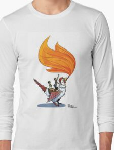 Good Mythical Morning Cockatrice Art by Mr. Ritter Long Sleeve T-Shirt
