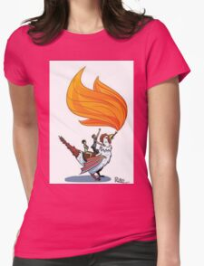 Good Mythical Morning Cockatrice Art by Mr. Ritter Womens Fitted T-Shirt