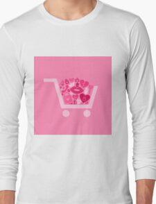 Love a cart Long Sleeve T-Shirt
