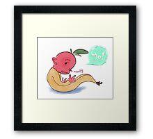 Lil' Turnip Kid Framed Print