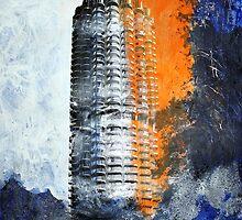 Hotelturm Augsburg by Enoeda