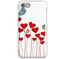 Love background3 iPhone Case/Skin