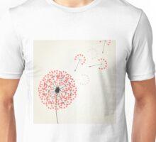 Love dandelion2 Unisex T-Shirt