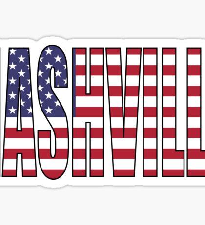 Nashville. Sticker