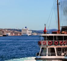 Bosphorus Strait Ferries Sticker