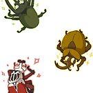 Mini beetles by Clair C