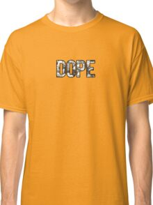 DOPE FLOWERS (BLACK & WHITE VARIANT) Classic T-Shirt