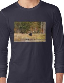 Bull Moose, Algonquin Park Long Sleeve T-Shirt