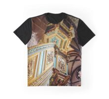 Majestic gothic church Sainte-Foy in Selestat interior, France Graphic T-Shirt