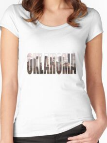 Oklahoma Women's Fitted Scoop T-Shirt