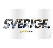 Sverige - Stockholm Poster
