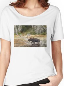 Bull moose - Algonquin Park Women's Relaxed Fit T-Shirt