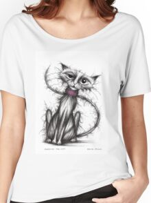 Sardine the cat Women's Relaxed Fit T-Shirt