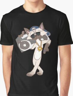 Cool Cat in town Graphic T-Shirt