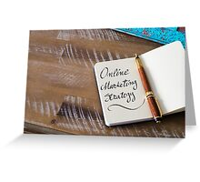 ONLINE MARKETING STRATEGY  Greeting Card