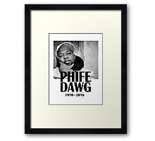 Phife Dawg - RIP Framed Print