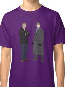 Sherlock & John Portraits Classic T-Shirt