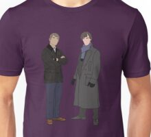 Sherlock & John Portraits Unisex T-Shirt