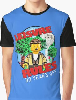 Leisure Rules - 30 Year's variant Graphic T-Shirt