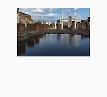 Reflecting on Ancient Pompeii - Basilica  Unisex T-Shirt