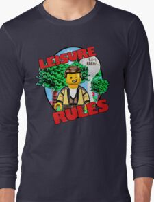 Leisure Rules - Save Ferris  Long Sleeve T-Shirt