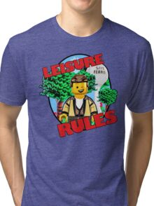 Leisure Rules - Save Ferris  Tri-blend T-Shirt