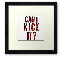 Can I Kick It? - Phife Dawg Framed Print