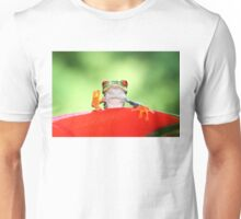 """Live long and Prosper"" Red-eyed Tree Frog T-Shirt"