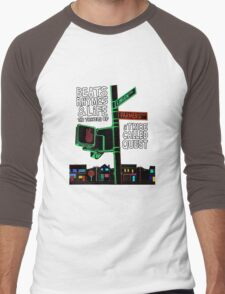 Beats Rhymes & Life - the travel of Men's Baseball ¾ T-Shirt
