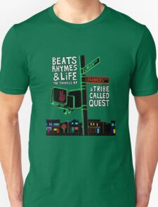 Beats Rhymes & Life - the travel of Unisex T-Shirt