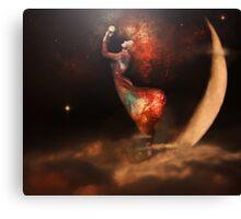 sky queen Canvas Print