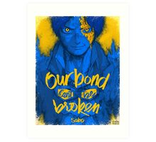 One Piece - Sabo with quote Art Print