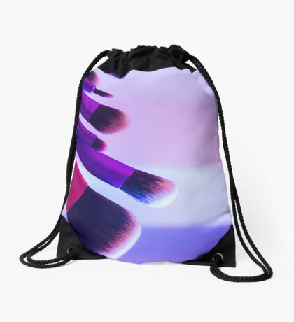 Makeup brushes Drawstring Bag