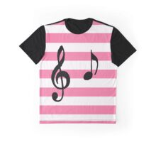 Musical note 'A'  Graphic T-Shirt