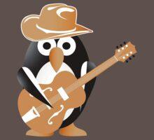 Penguin guitarist One Piece - Short Sleeve