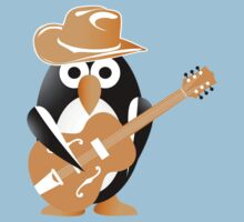 Penguin guitarist Kids Tee
